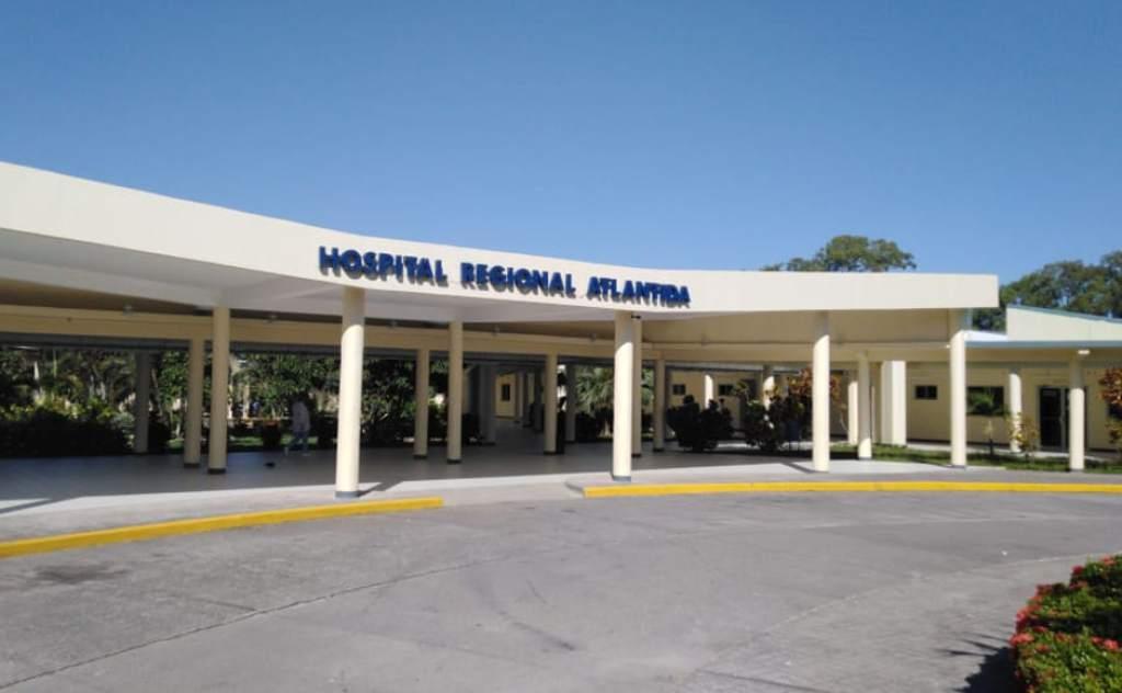 Muertes por COVID-19 Hospital Atlántida