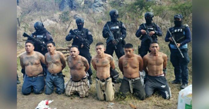 detenidos centro de sicarios MS
