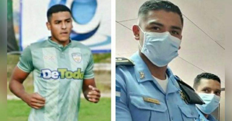 Policía y futbolista: El Inspector Williams Moncada cumple su sueño en Liga Nacional