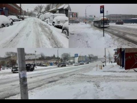 GALERÍA  Poderosa tormenta invernal tiene cubierto de nieve el noroeste de EEUU
