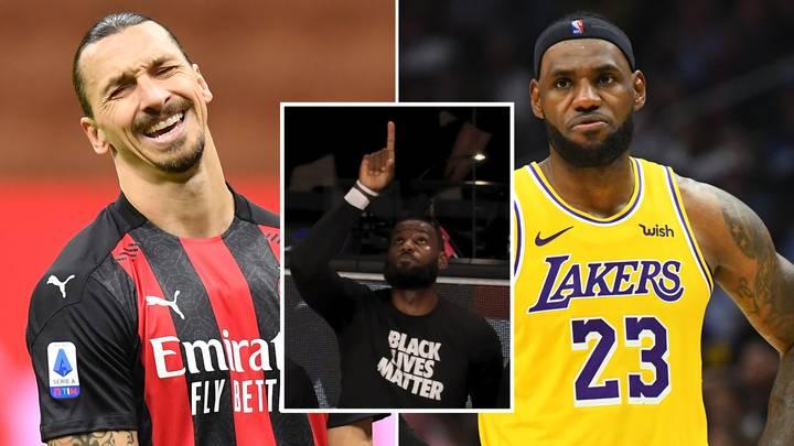LeBron vs Zlatan: la dura respuesta de la estrella de NBA ante las críticas del sueco