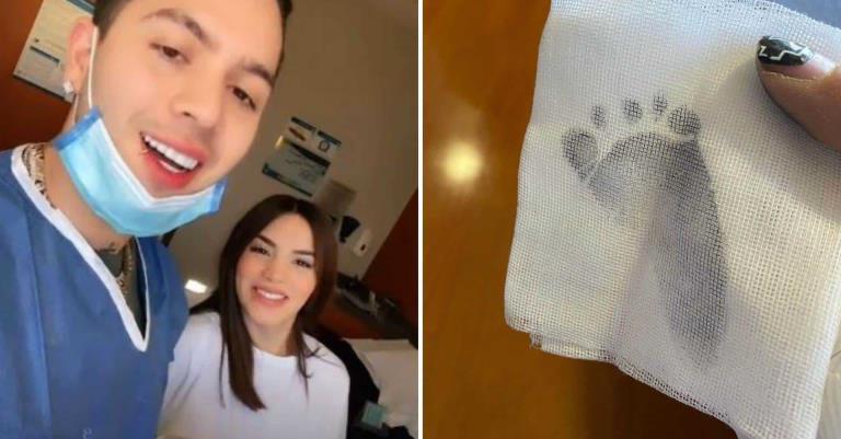 """Adiós embarazo, hola hijo"": Kimberly Loaiza y Juan de Dios Pantoja ya son padres"