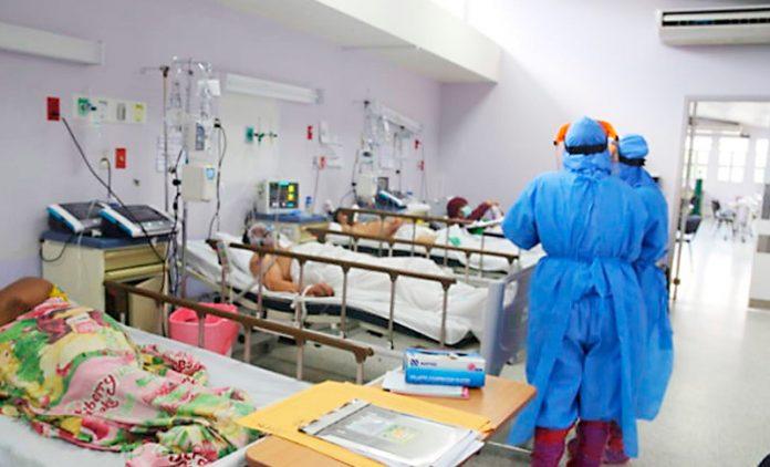 covid-19 atención paciente en UCI