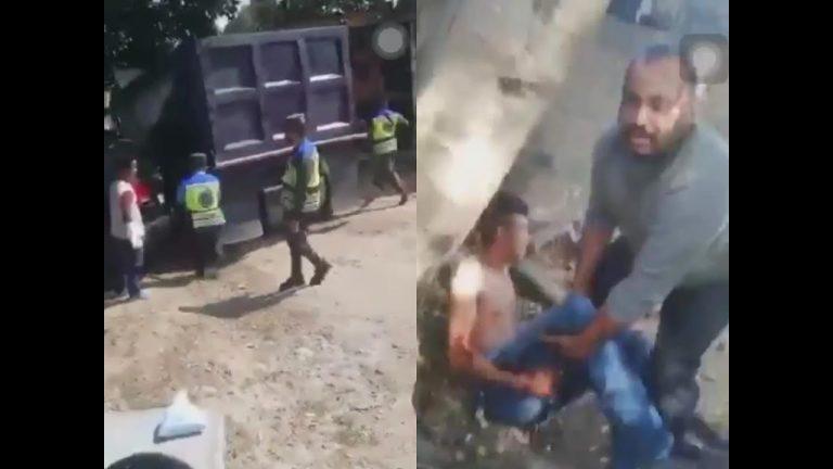 Cuatro balazos y gritos: vídeo muestra cuando policías disparan a joven de 21 años