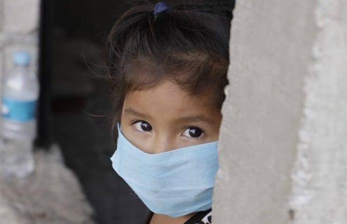 niños Covid Honduras