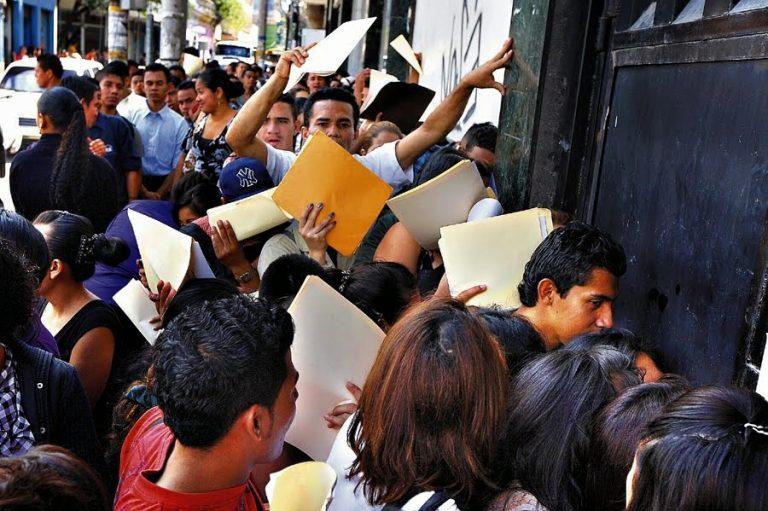 CCIT: En un 70 % cayeron oportunidades de empleo en Honduras