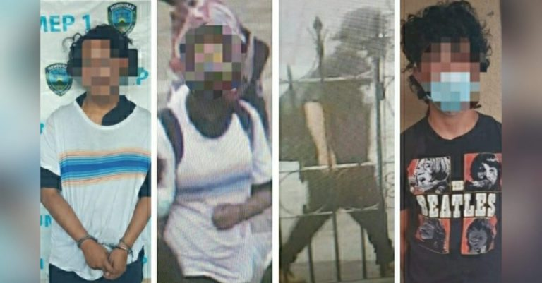 Detienen a cinco sospechosos de atentar contra policías y quemar su motocicleta