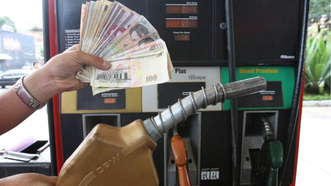 precio combustible Honduras