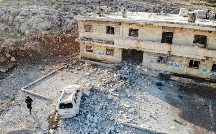 Siria bombardeo de Estados Unidos