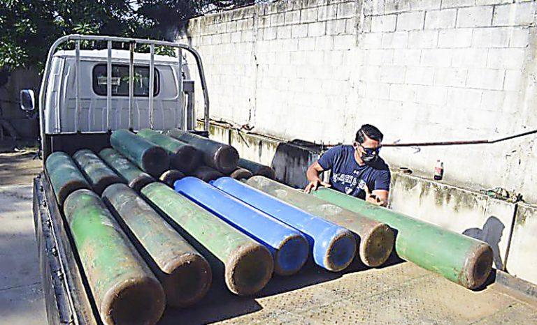 Sampedrano sufrió el COVID y emprende con negocio para apoyar con tanques de oxígeno