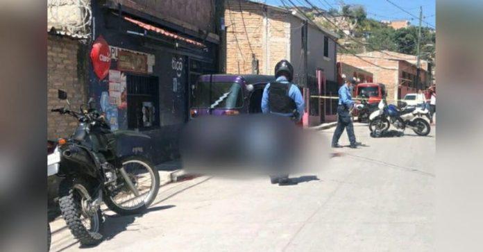 muerto tiroteo mototaxi Comayagüela