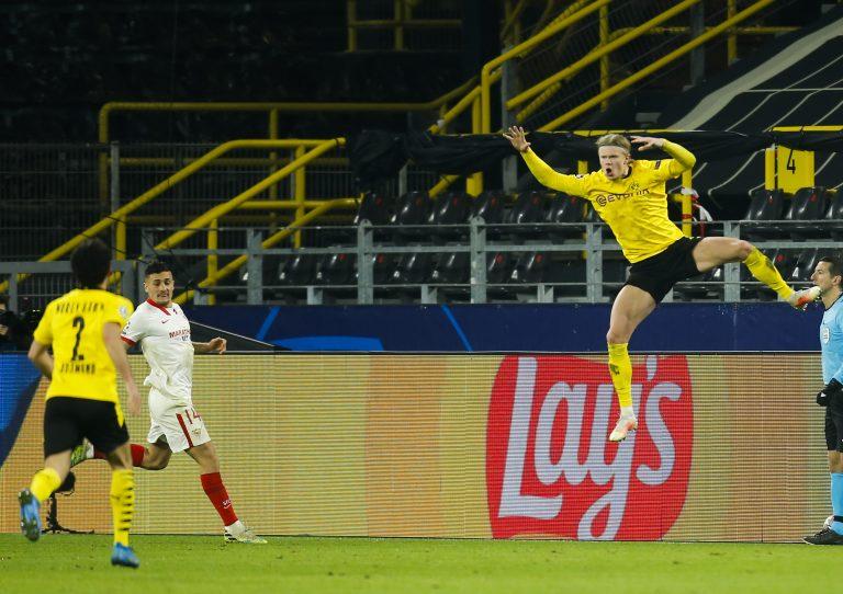 Haaland lleva al Borussia Dortmund a los cuartos de final
