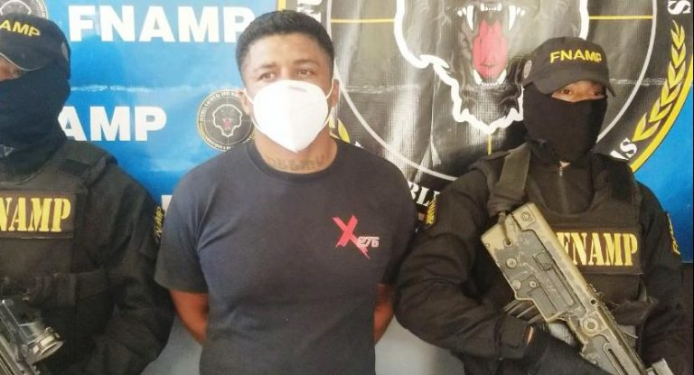"""Cae un """"Latin Kings"""" en Choloma: estuvo 16 años preso en EEUU, dice Policía"""