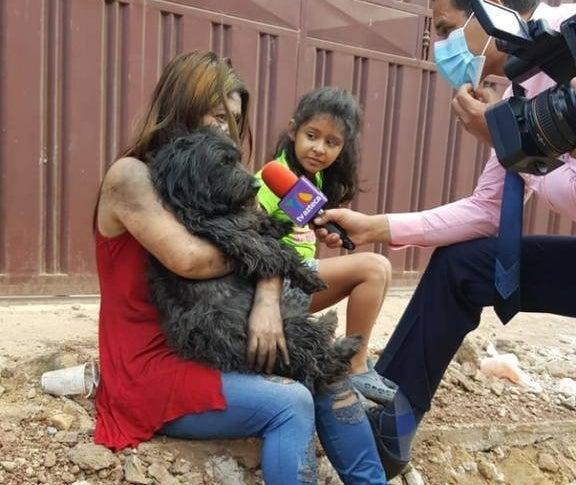 La imagen fue compartida por el medio TV Azteca.