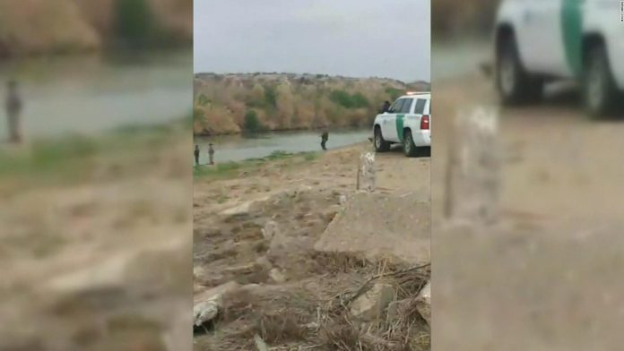 migrantes se ahogan agentes fronterizos