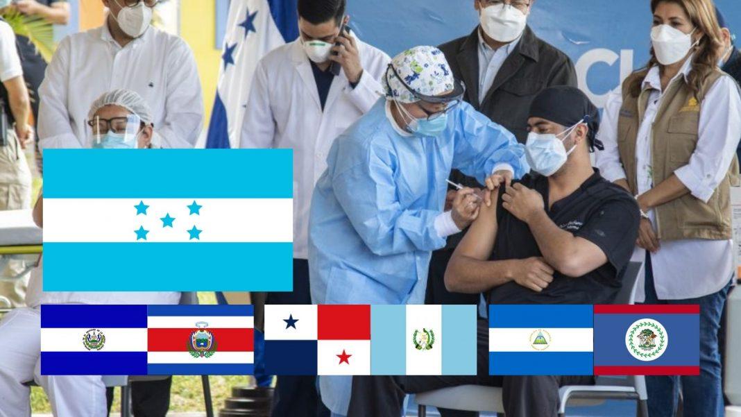 vacunación COVID Centroamérica