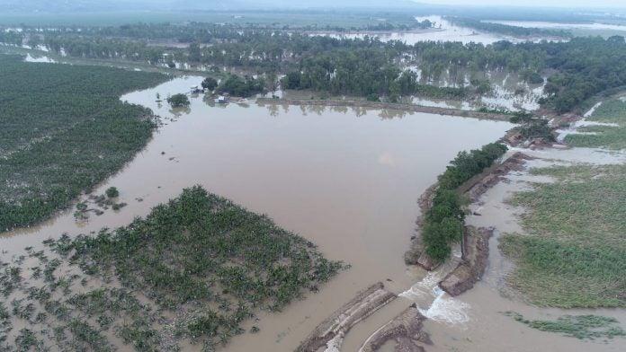 Exigen construcción de bordos en Rio Humuya y Ulúa