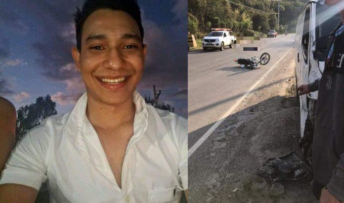 Joven muere en accidente en Copán