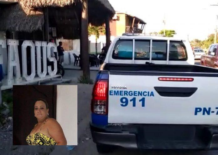 Dueña de bar en La Ceiba.
