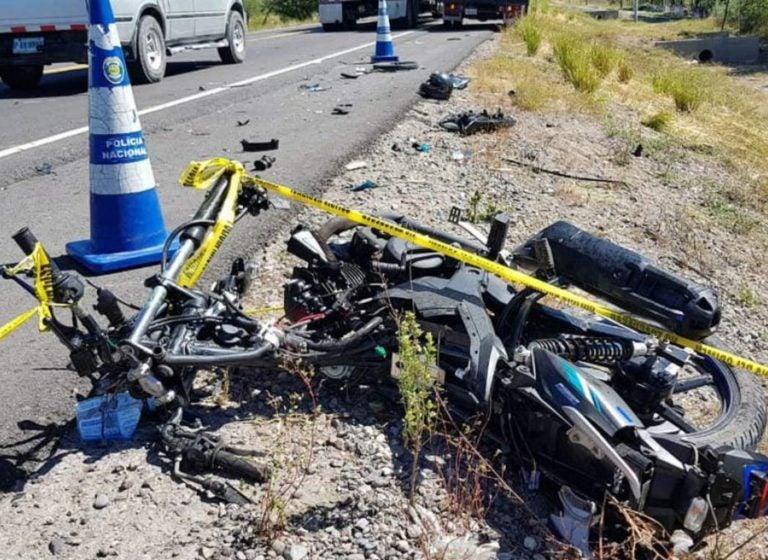 SPS: dos personas quedan heridas tras colisión entre dos motocicletas