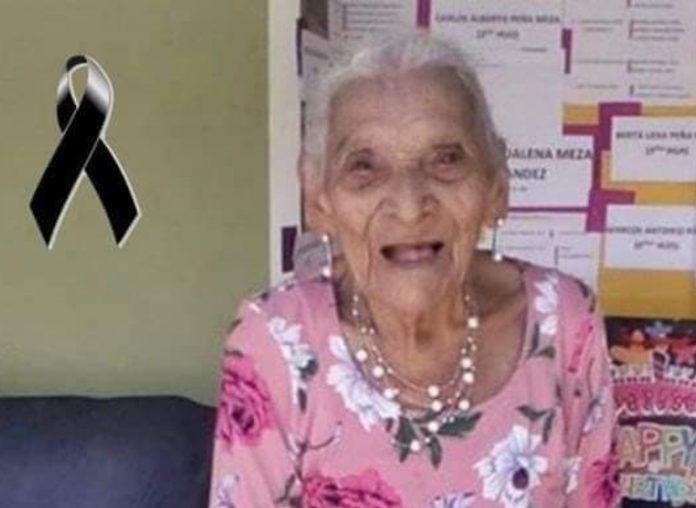 Muere la mujer más longeva de Honduras