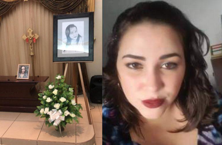 Entre globos y lágrimas, despiden a Glenis, taxista asesinada en La Ceiba