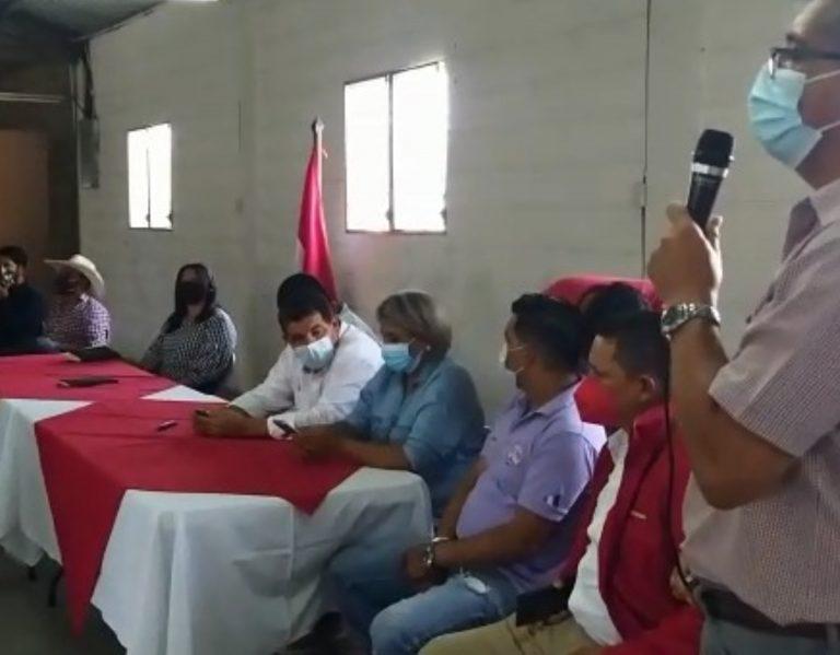 El Paraíso: estructuras de Luis Zelaya anuncian que se unen al Movimiento Yanista