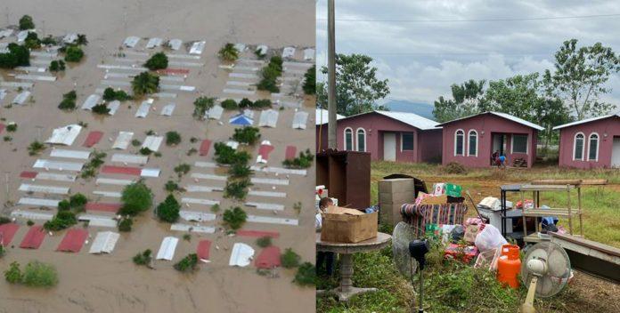 construcción viviendas afectados Eta Iota