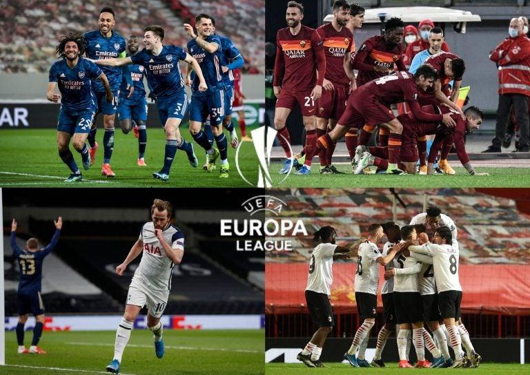 UEFA Europa League: Así empezaron los octavos de final