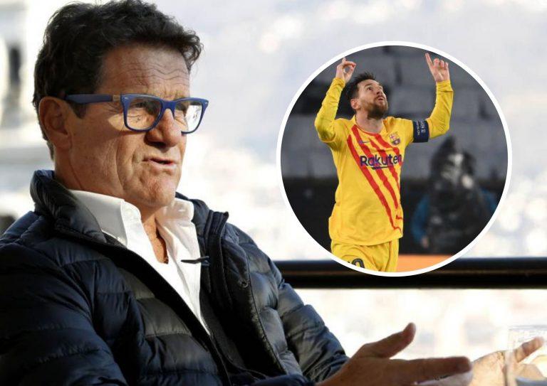 Capello: «Los demás ganarán el Balón de Oro como Cristiano, pero Messi es el genio absoluto»