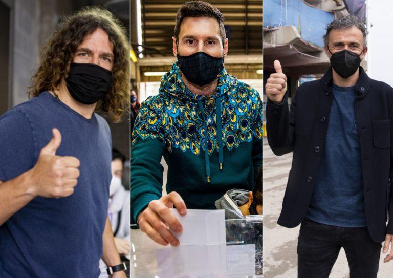 Elecciones Barcelona: Así votaron las leyendas blaugranas