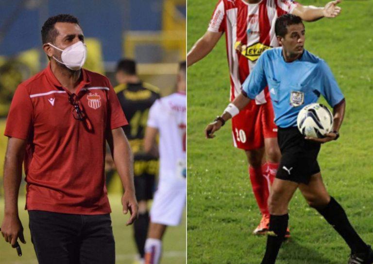 Nerlin Membreño llama «sinvergüenzas ladrones» a los árbitros, ¿cuál será su castigo?
