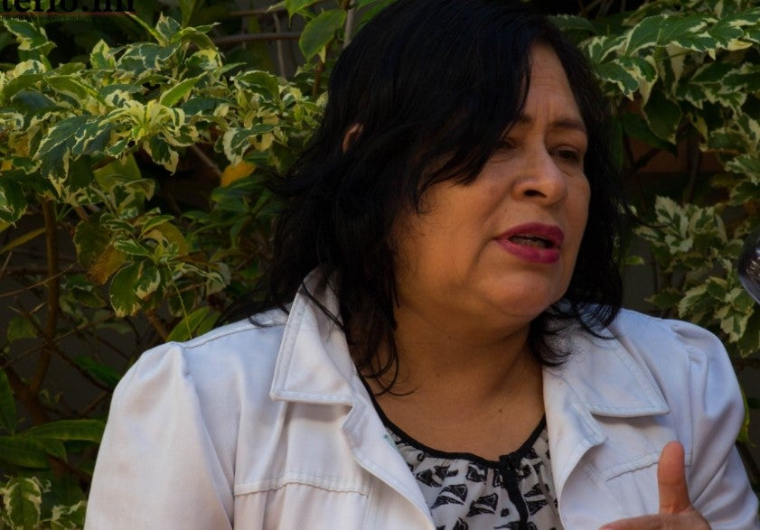 Miriam Aguilera, vocera del Colegio de Microbiólogos de Honduras.