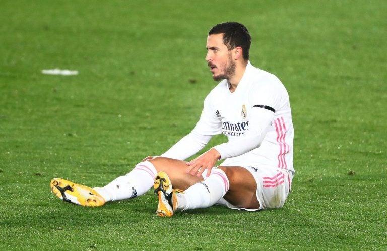 ¡Otra vez! Eden Hazard es baja por lesión muscular