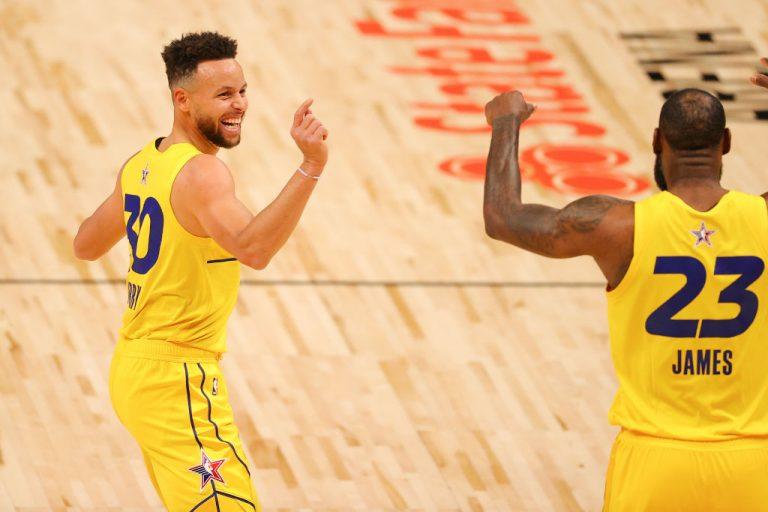 El team LeBron se impuso al team Durant y se llevó el All Star Game de la NBA