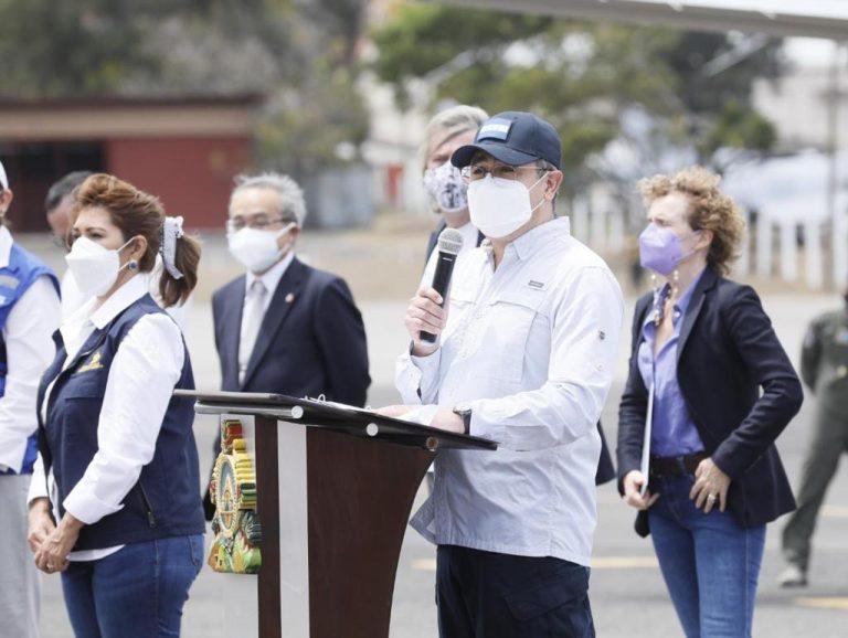 JOH sobre vacunas: «Todos han puesto un grano de arena para salvar a Honduras»