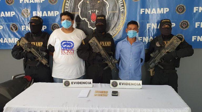 Caen dos supuestos MS-13 acusados de extorsión en Santa Cruz de Yojoa