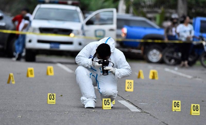 Honduras muertes homicidios 2021