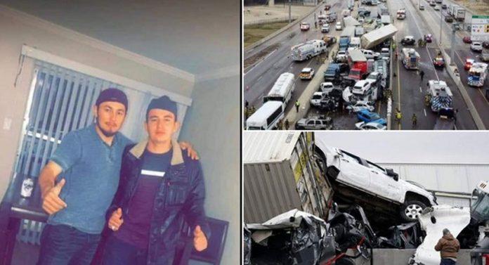 Hondureños accidente EEUU