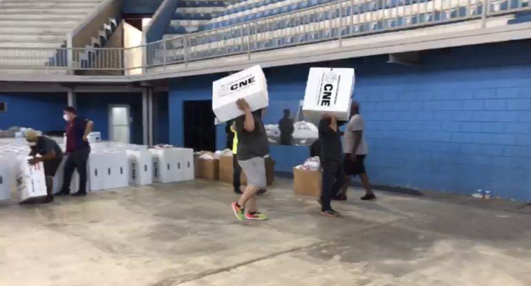 ¿Cómo distribuyeron las maletas electorales en los 12 municipios de Cortés?