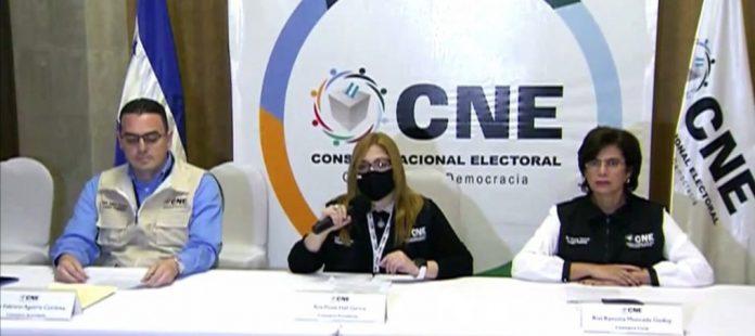 CNE organizaciones se niegan observar escrutinio