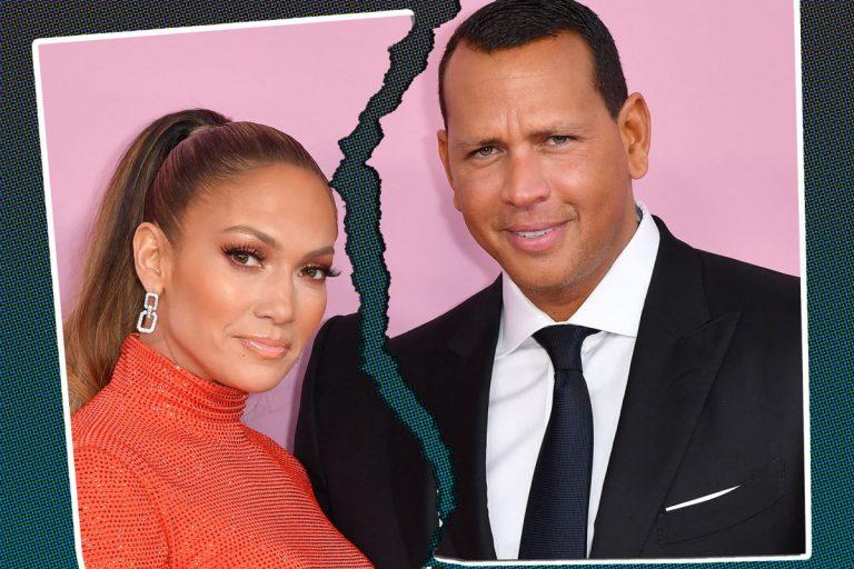 ¿Adiós matrimonio? J-Lo y Álex Rodríguez habrían terminado su relación