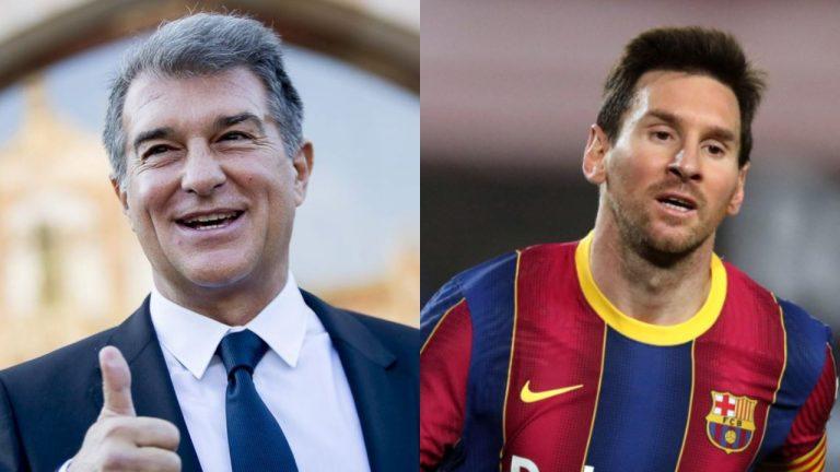 El plan de Joan Laporta para retener a Messi en el Barcelona