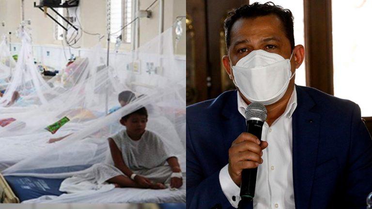 Secretaría de Salud: Más de 1,500 casos de dengue en lo que va de 2021