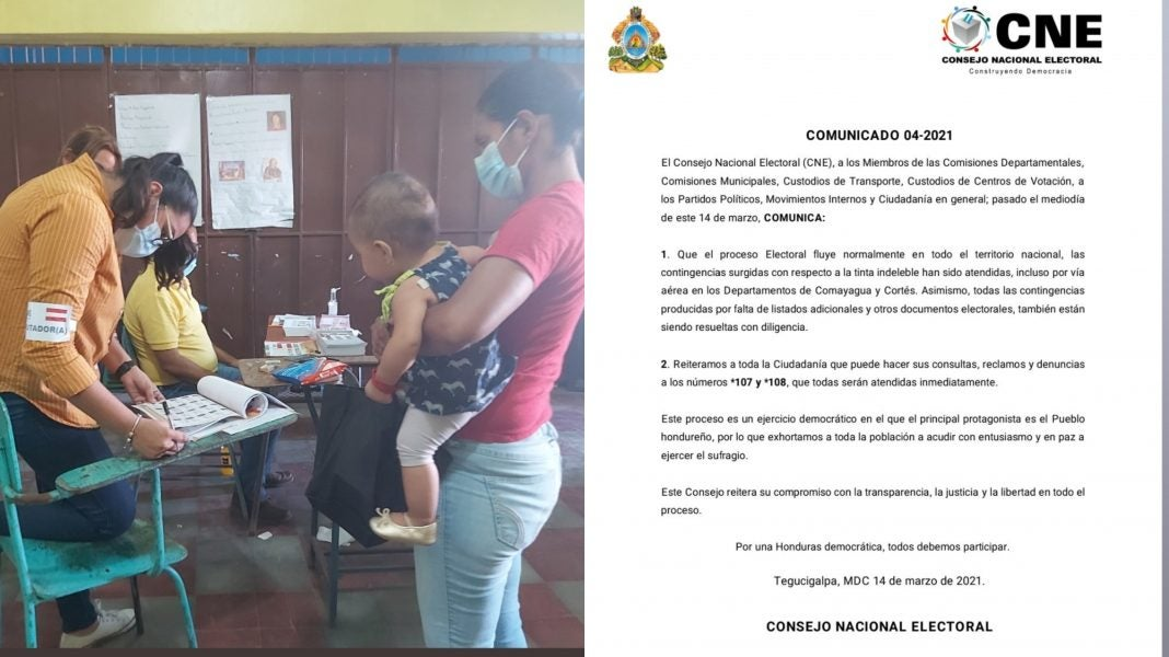 CNE irregularidades elecciones primarias