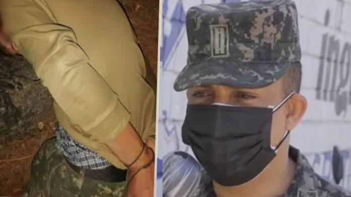 FFAA raptar militar Amarateca