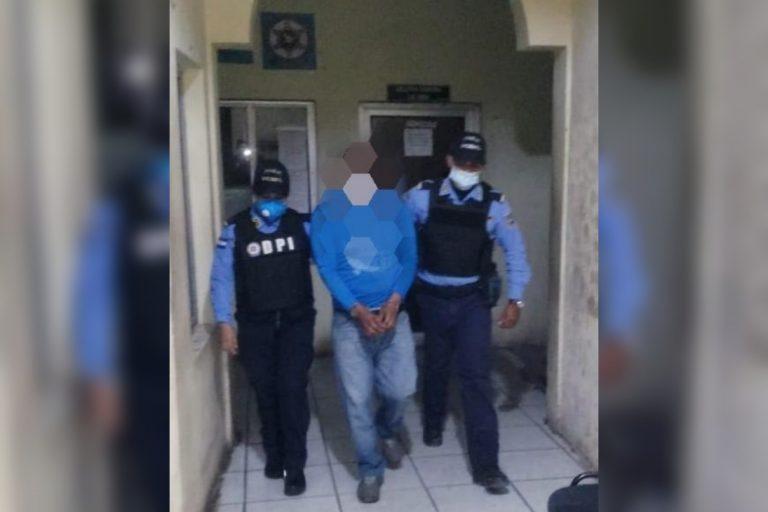 Choluteca: cae por supuesta lujuria contra su hijastra de 11 años