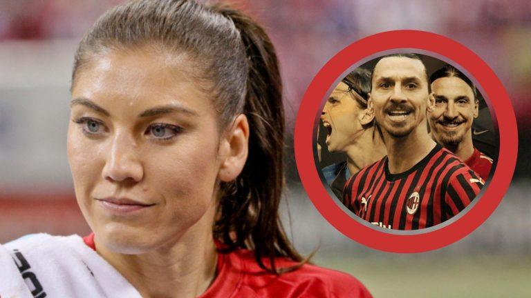 Hope Solo arremete contra Zlatan Ibrahimovic