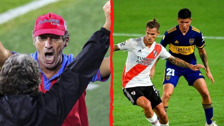 """Troglio a medio argentino: """"Le peleamos a cualquier equipo del fútbol argentino"""""""