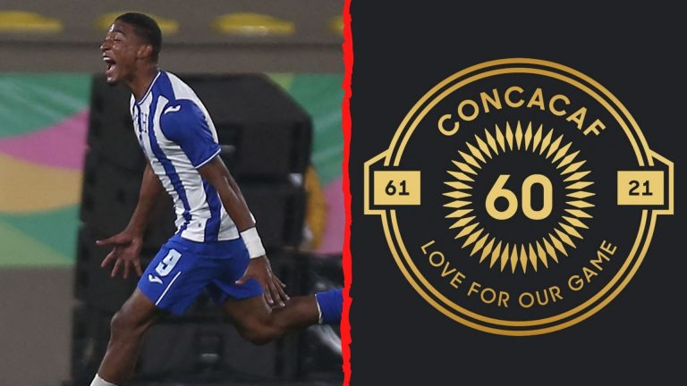 Delantero hondureño Douglas Martínez destacado por la Concacaf